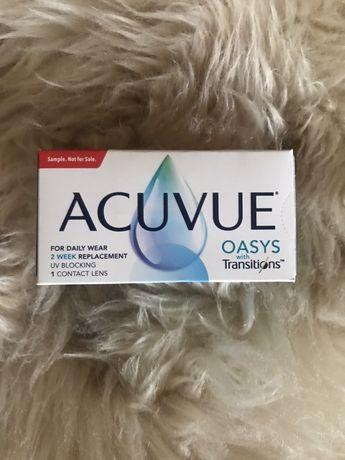 Soczewki kontaktowe Acuvue oasys transitions -9,5