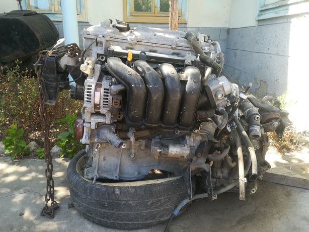 Двигатель,блок АБС,насос кондиционера,тойота Королла е 150