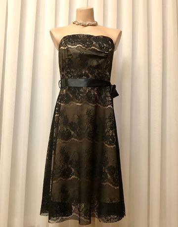 Платье вечернее, коктейльное, кружевное