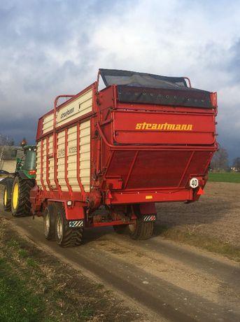Przyczepa samozbierająca Strautmann Super Vitesse II DO