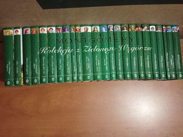Kolekcja Ania z Zielonego Wzgórza 24 tomy komplet