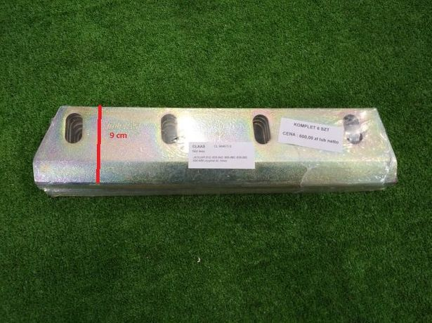 Nóż siekący lewy uniwersalny bęben nożowy Claas Jaguar 860, 880, 850