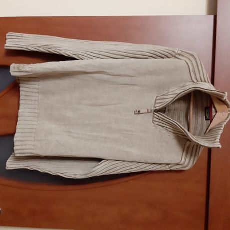 Sweter, sweterek Wrangler, wiosenny, przez głowę, 100% bawełny