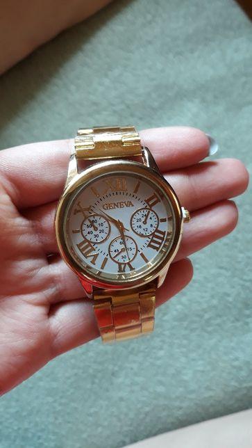 Zegarek damski na rękę, w kolorze złota, nowy