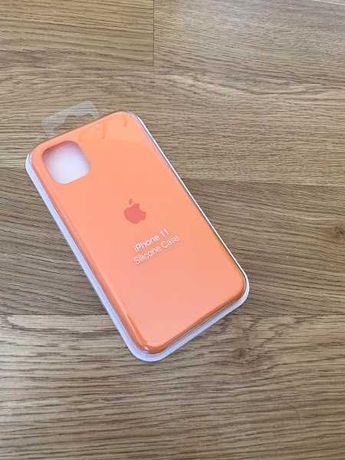 Apple etui case iphone 11 pomarańczowy