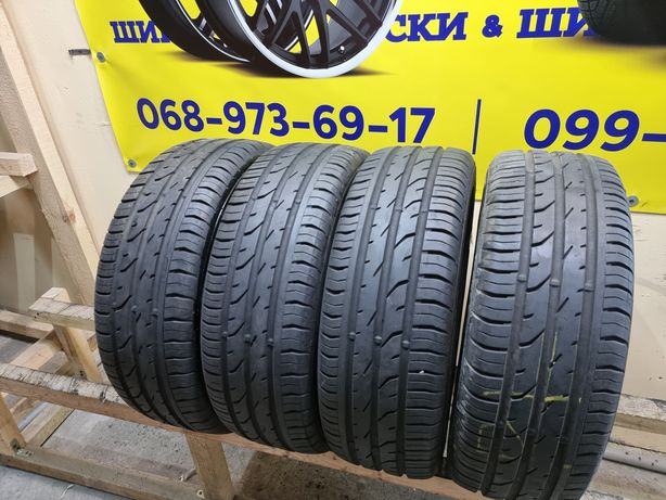 Летняя Резина Шины 185/55/R15 Continental 7 мм Склад Шин