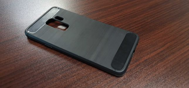 Etui obudowa Samsung S9+ S9 + plus spigen używana karbon carbon