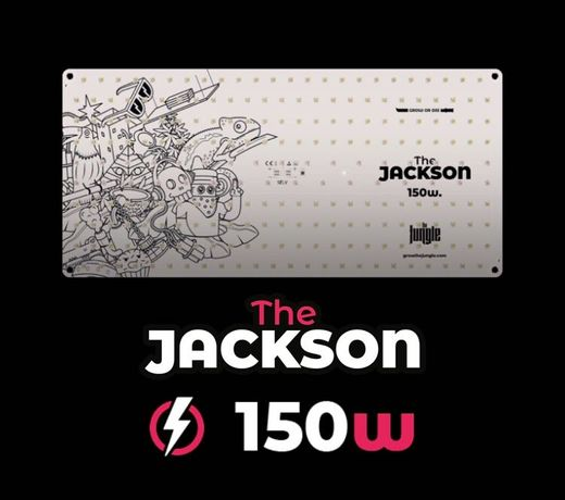 Led cultivo indoor Quantum Board, Samsung e Osram 150w - The Jackson
