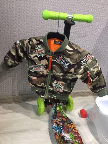 Продам детская куртка демисезонная