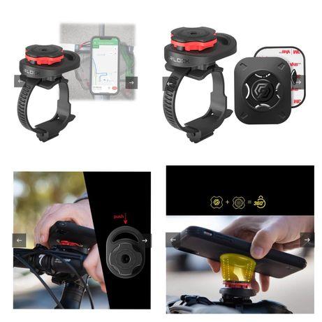 Suporte de bicicleta Spigen Gearlock MS100 P/ Smartphones -Novo-24h