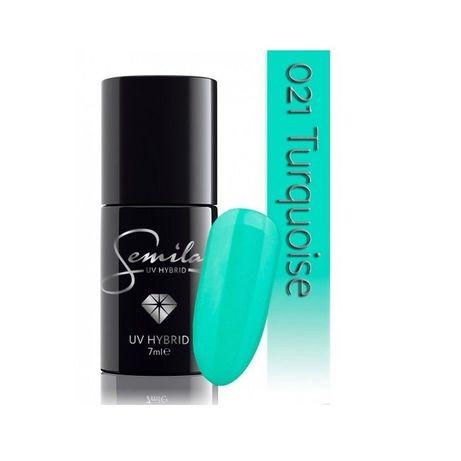 Semilac Lakier Hybrydowy 021 Turquoise 7ml