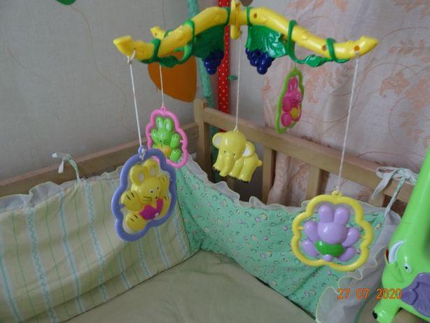 мобиль детский на кроватку
