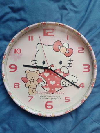 Zegar ścienny, zegarek Hello Kitty
