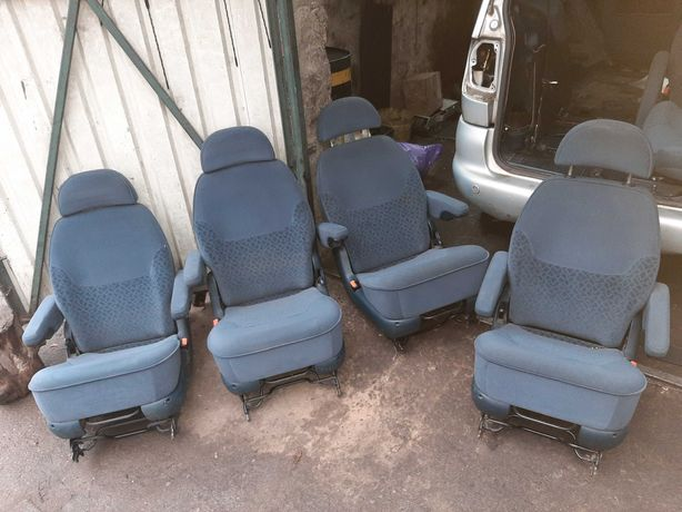 Fotel tył lewy prawy ford galaxy vw sharan seat alhambra mk1 1999r