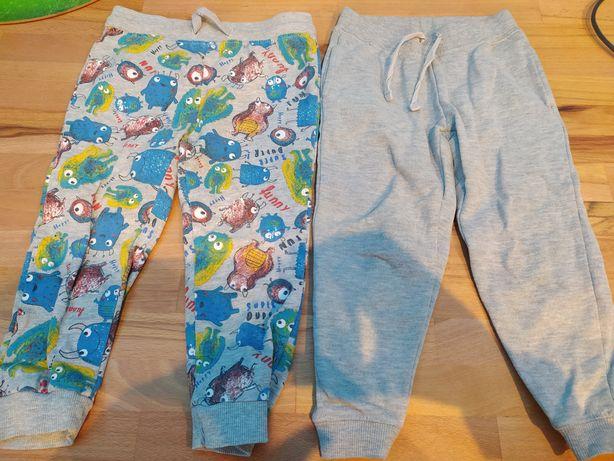 Spodnie chłopiec 98 - 4 sztuki
