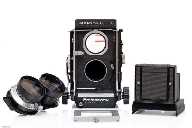 Mamiya TLR C330 + Sekor 65mm F/3.5 – c/ Revisão!