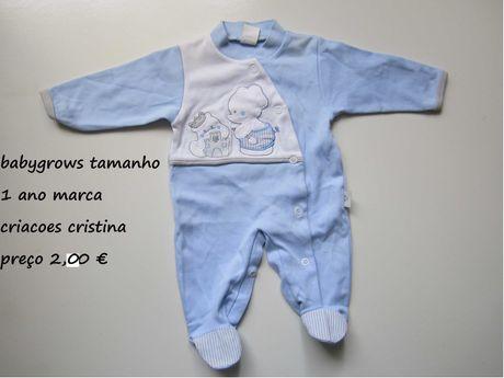 babygrows de primavera/verao para criança de 0 meses a 3 meses