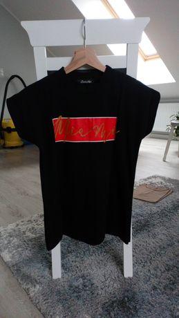 Bluzka t-shirt s 36 xs 34 damska gruba bawełna z andzela shop