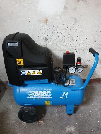 Kompresor sprężarka tłokowa bezolejowa 24L ABAC PRO POLE POSITION O20P