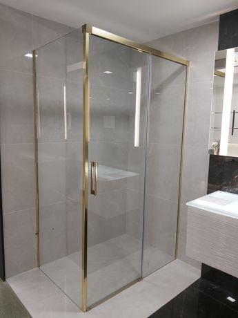 Radaway kabina prysznicowa złota Idea kdj gold 120x80 prawa