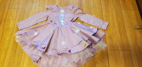 Продам платье, костюм на утренник, новый год, фея, бабочка, 4-5 лет