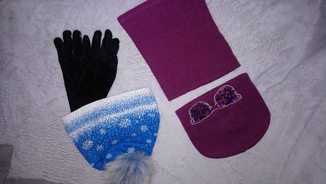 Б.у, Деми, осенняя шапка и баф + зимняя шапка