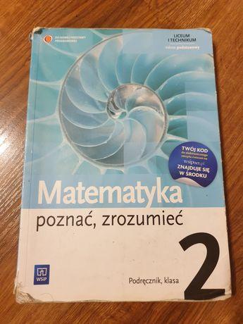 """Podręcznik do matematyki """"Poznać, zrozumieć 2"""""""