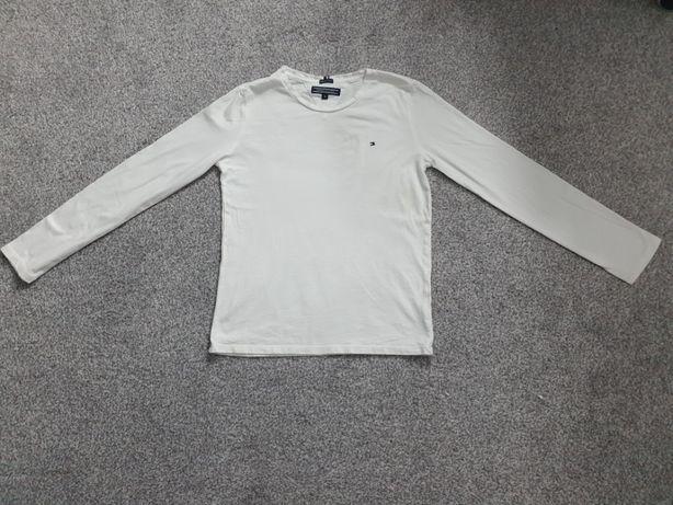 TOMMY HILFIGER, bluzka z długim rękawem, rozmiar 140 cm. ORYGINAŁ