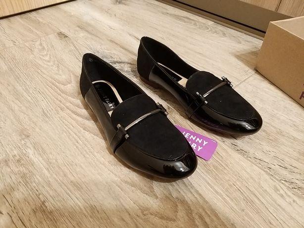 Nowe nieużywane buty lakierowane rozum 36
