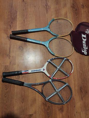 Rakiety do tenisa stare retro vintage