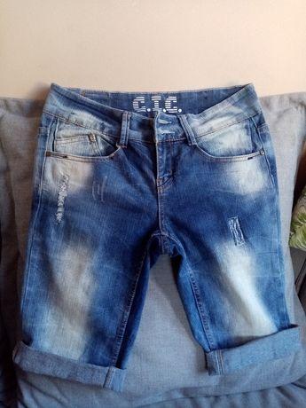 Spodenki jeans M/L
