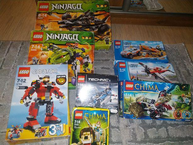 Klocki LEGO ponad 3kg Ninjago Chima,Hero Factory, Mixels