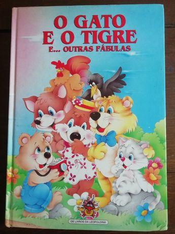 Livro O gato e o tigre