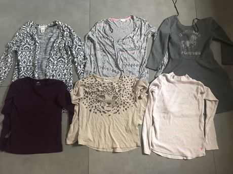 Paka ubrań tylko z H&M, 8-10 lat, 134/140 cm, jesien/zima