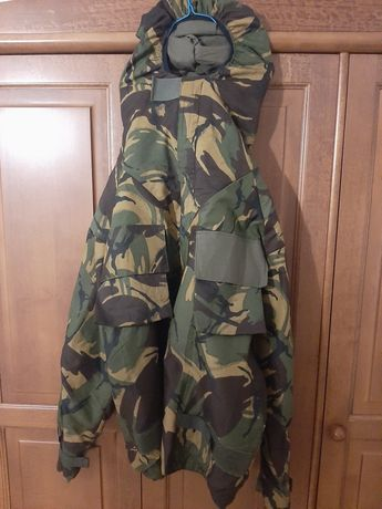 Kurtka wojskowa NBC CBRN Brytyjska DPM Mundur kamuflaż MK. IV