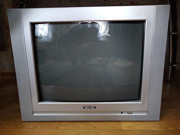 Телевизор West с пультом