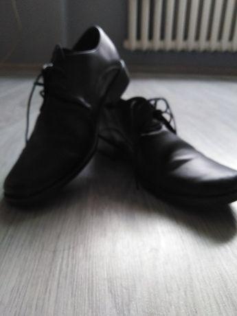 Buty skórzane r. 36