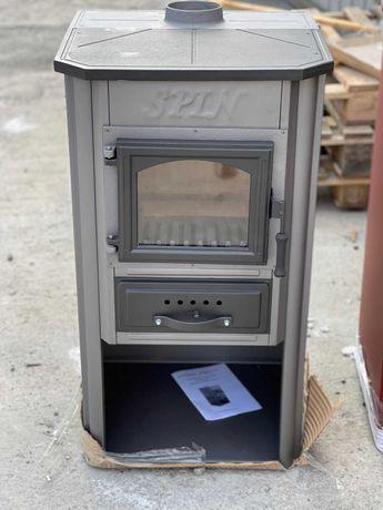 Печь камин  на дровах Spin Plam Ekonomik  9 квт Безкоштовна доставка