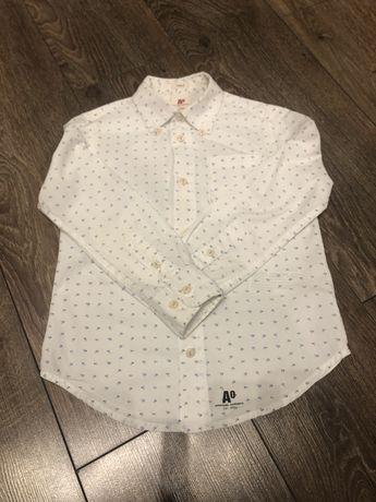 Biala elegancka koszula American Outfitters r. 6 lat