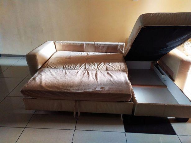 Кожаный угловой диван со спальным местом «Verso» (010803)