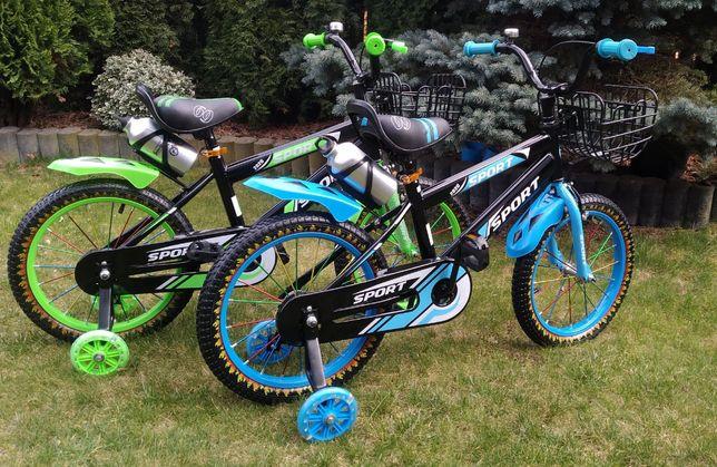 Rower rowerek dla dziecka 16 cali Sport Hamulec w torpedzie