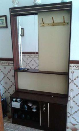 Movel de entrada com espelho/Bengaleiro