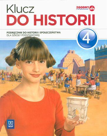 Klucz do historii - podręcznik klasa 4, wyd. WSiP