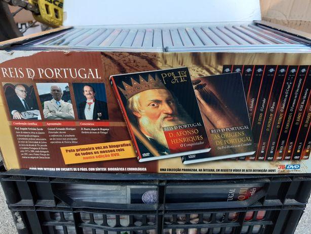 Reis de Portugal - Coleção dvds