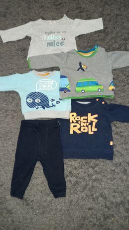 Пакет вещей для мальчика 3-6 месяцев  62 см. Бодики штаны кофты