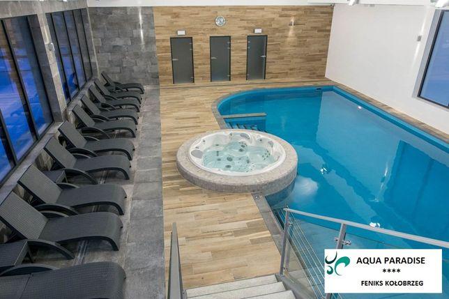 Apartament Feniks Kołobrzeg, basen, sauna, siłownia, bawialnia
