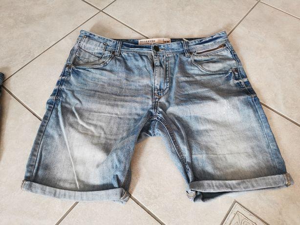 Spodenki  Jeans Reserved W 34