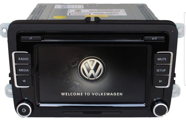 Новая! VW RCD510 Delphi, с видеовыходом RGB и USB