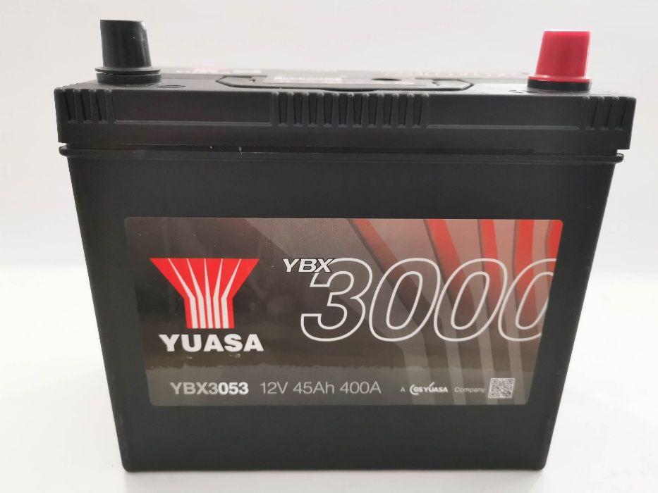 Akumulator YUASA YBX3053 45Ah 400A Promocja!!! P+ Wrocław - image 1