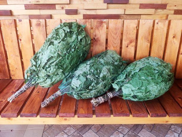 віники Дубові з Карпатськими травами (меліса, мята, звіробій,чебрець)